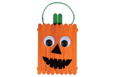 Citrouille en bâtonnets - Halloween – 10doigts.fr
