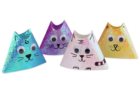 Origami chat - Activités enfantines – 10doigts.fr