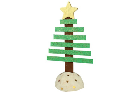 Sapin de Noël en bâtonnets - Noël – 10doigts.fr