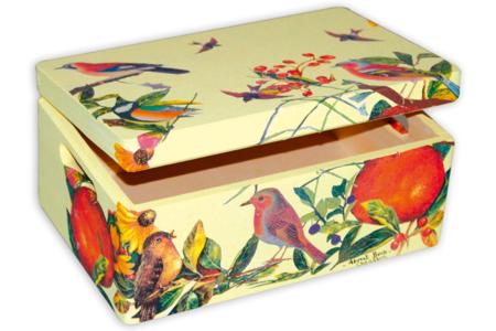 Boîte de rangement en bois - Boîtes et coffrets – 10doigts.fr