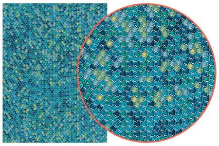 Décopatch N° 729 - Set de 3 feuilles - Papier Décopatch – 10doigts.fr