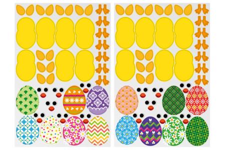 Gommettes poussins de Pâques - 14 Poussins à créer - Kits activités Pâques – 10doigts.fr