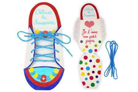 Cartes chaussures - Kit 6 ou 18 réalisations - Cartes et poèmes de fêtes – 10doigts.fr