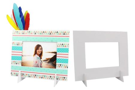 Cadres photo en carton mousse - 6 pcs - Cadres – 10doigts.fr