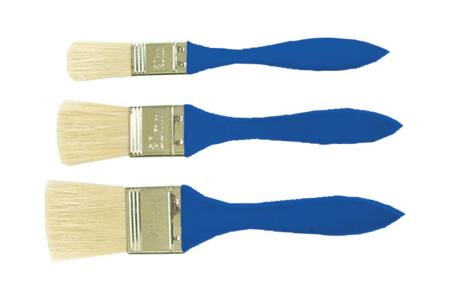 Brosses plates et larges - Set de 3 - Brosses – 10doigts.fr