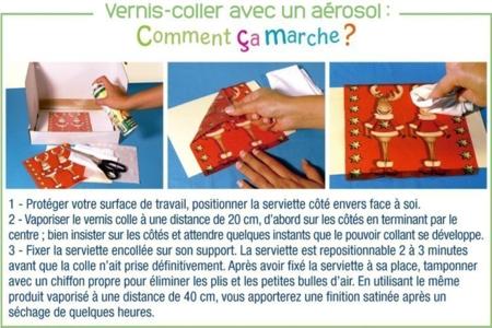 Vernis-colle en aérosol 250 ml - Colles en aérosol – 10doigts.fr