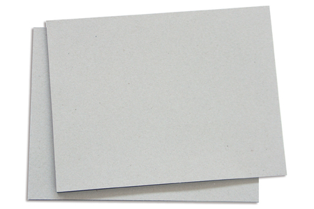 Panneau en carton gris épais - Carterie – 10doigts.fr