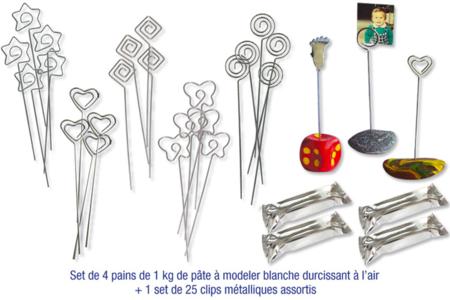 Pâte à modeler 10 Doigts, durcissant à l'air - Pâtes à modeler durcissant à l'air – 10doigts.fr