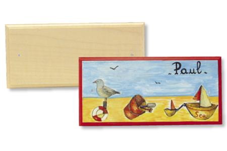 Blason de porte rectangulaire - Plaques de porte – 10doigts.fr