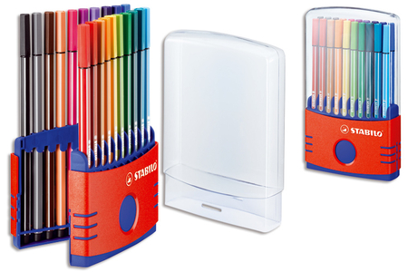 Feutres Stabilo Pen - Boite de 20 - Feutres fins – 10doigts.fr