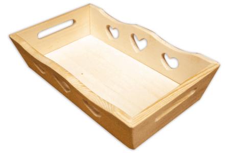 Mini plateau en bois - Plateaux en bois – 10doigts.fr