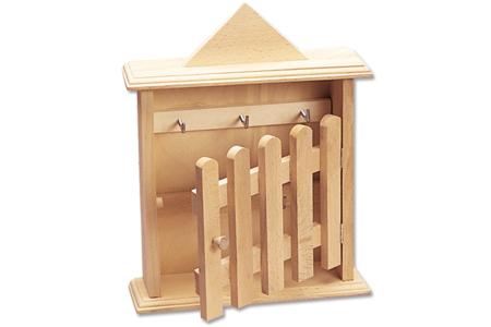 Armoire à clefs, en bois - Armoires et étagères – 10doigts.fr