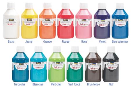 Peinture acrylique ultra brillante 80 ou 250 ml - Acryliques scolaire – 10doigts.fr