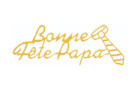 """Stickers Peel Off dorés """"Bonne fête Papa"""" - Stickers contours, Peel off – 10doigts.fr"""