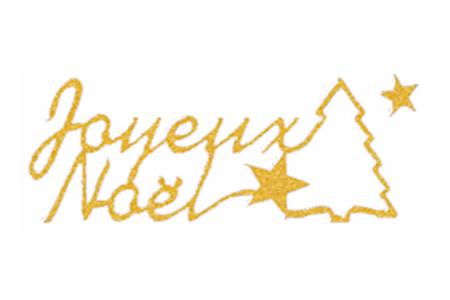 """Stickers Peel Off dorés """"Joyeux Noël"""" - Stickers contours – 10doigts.fr"""