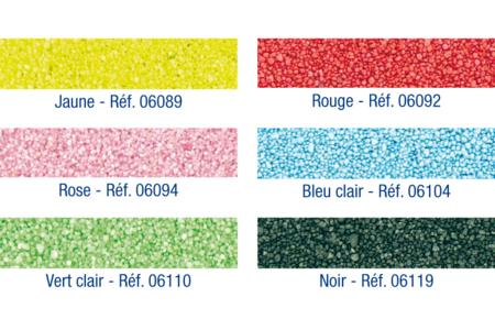 Sable fin coloré - Sable – 10doigts.fr