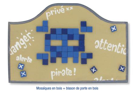 Mosaïques en bois - Mosaïques bois – 10doigts.fr