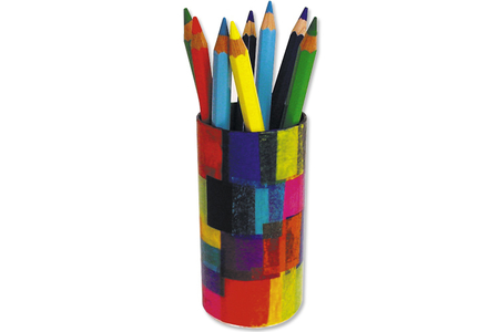 Pot à crayons rond - Pots à crayons – 10doigts.fr