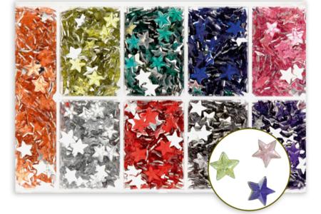 Strass étoiles - coffret de 1630 pièces - Strass – 10doigts.fr