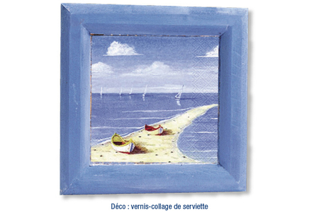 Cadre photo ou vide-poche en bois - Cadres photos – 10doigts.fr