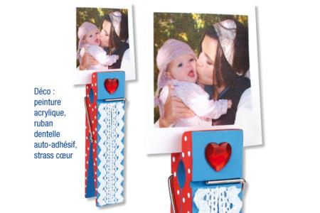 Pinces à linge en bois Géante - 15 cm - Pinces à décorer – 10doigts.fr