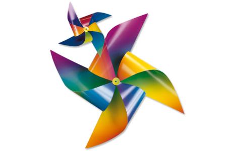 Cartes Arc-en-ciel en dégradé de couleur - Set de 10 - Carte légère ou forte fantaisie – 10doigts.fr
