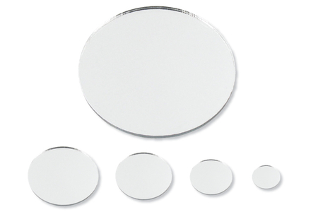 Miroirs adhésifs ronds - 8 pièces - Miroirs – 10doigts.fr