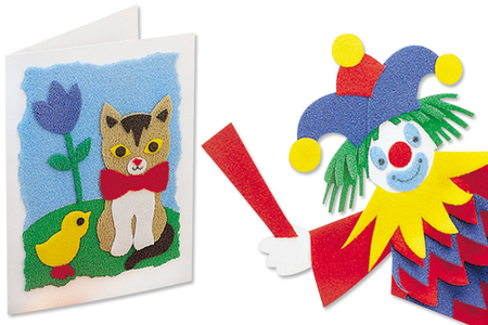 Papier velours - Set de 10 feuille - Papier mousse Vivelle – 10doigts.fr