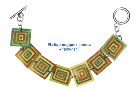 Plastique magique brillant translucide - Plastique Magique – 10doigts.fr
