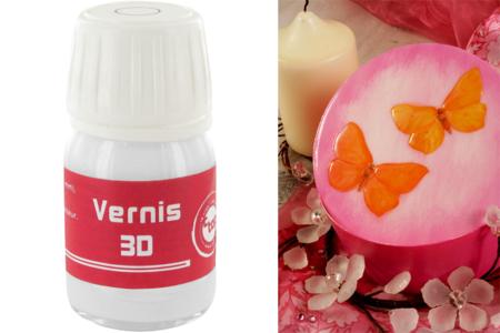 Vernis laque 3D - Flacon de 60 ml - Vernis – 10doigts.fr