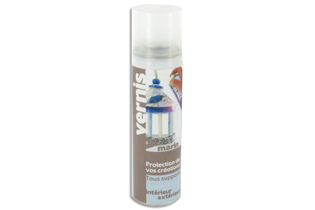 Aérosol Vernis marin 250 ml - Vernis – 10doigts.fr