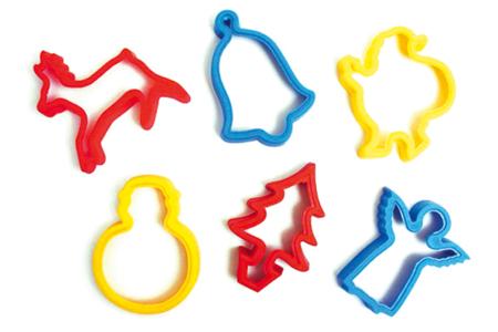 Emporte-pièces NOËL - 6 motifs assortis - Emporte-pièces – 10doigts.fr