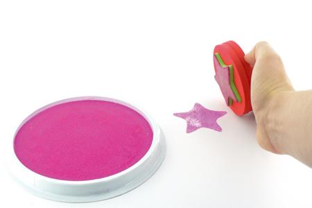 Encreurs géants colorés - Encres – 10doigts.fr