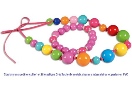 Perles rondes brillantes - Set de 180 - Perles acrylique – 10doigts.fr