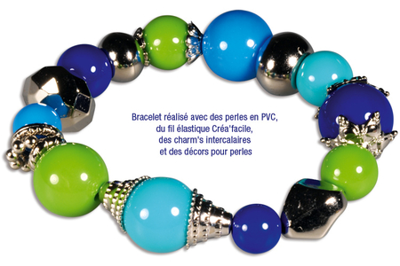 Perles rondes brillantes - 180 perles - Perles acrylique – 10doigts.fr