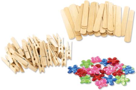 Pense-Bête à fabriquer - Kit pour 12 réalisations - Kits activités sur bois – 10doigts.fr