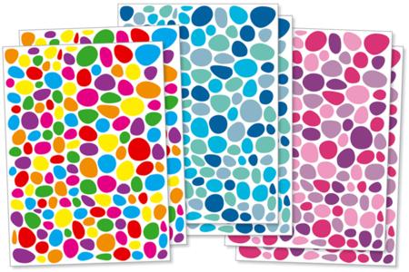 Gommettes mosaïques fantaisie - 300 ou 900 pièces - Gommettes fantaisie – 10doigts.fr