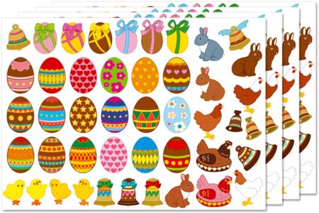 Gommettes de Pâques - Gommettes fantaisie – 10doigts.fr