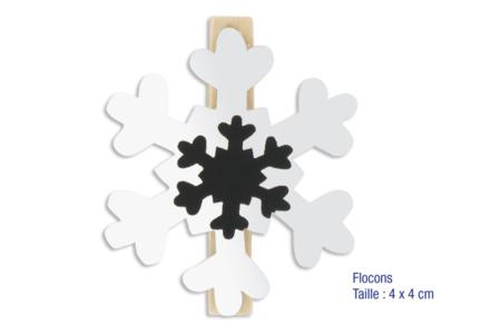 Set de 9 pinces à linge miroirs - Pinces à linge – 10doigts.fr