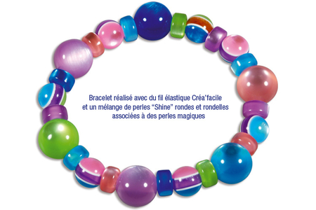 """Perles rondes """"Shine"""" - 25 perles - Perles acrylique – 10doigts.fr"""