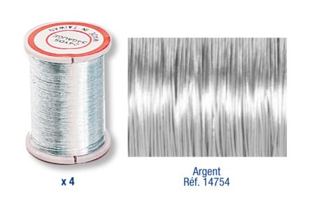 Bobines de fil métallique - 20 m - Fils aluminium – 10doigts.fr