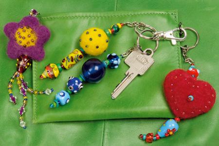 Porte-clefs à anneau brisé avec chaîne - 25 pièces - Porte-clefs, Anneaux, Mousquetons – 10doigts.fr