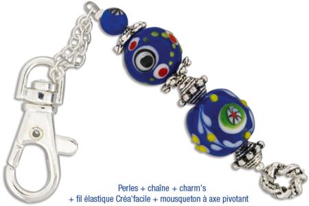 Mousquetons en métal à axe pivotant - 4 pièces - Porte-clefs, Anneaux, Mousquetons – 10doigts.fr
