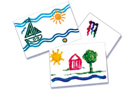 Papier blanc pour dessin et peinture - Carte légère ou forte – 10doigts.fr