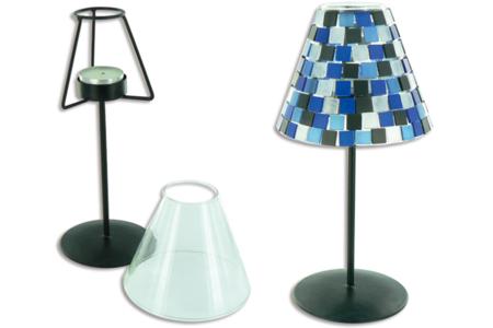 Mosaïques en résine acrylique camaïeux opaques brillants marbrés vert - Mosaïques résine acrylique – 10doigts.fr