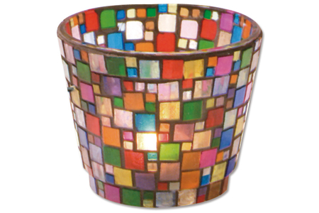 Mosaïques en résine acrylique camaïeux opaques brillants marbrés brun - Mosaïques résine acrylique – 10doigts.fr