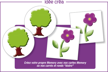 Mini-pochoirs La campagne -Set de 24 - Pochoir Nature – 10doigts.fr