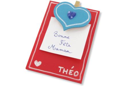 Mémos cœurs - Kit pour 12 réalisations - Divers – 10doigts.fr