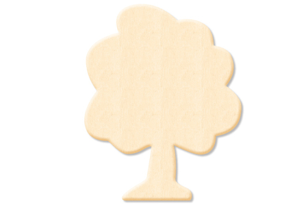 Arbre en bois naturel - Motifs brut – 10doigts.fr