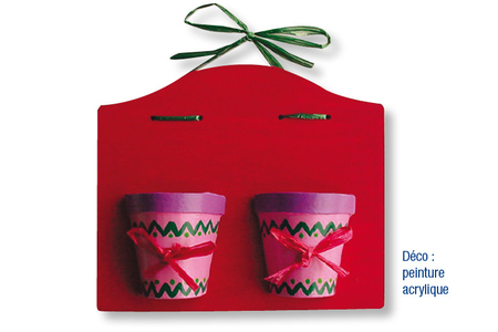 Demi-pots en carton papier maché - Pots, vases, paniers, sacs – 10doigts.fr